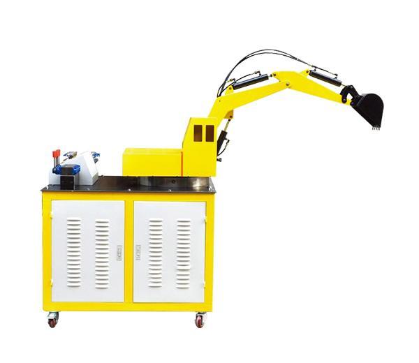 DLYY-GCJX01 Pelle système hydraulique et le système de formation au contrôle PLC