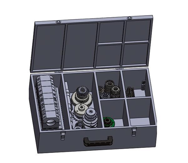 DLJX-ZX01 Dispositif portable combiné Formation Arbre de transmission