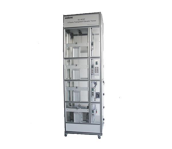 DLLY-4CDT Transparent  ascenseur 4 etages  formateur