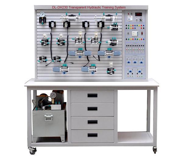 DL-DH230 Système de formation hydraulique Transparent