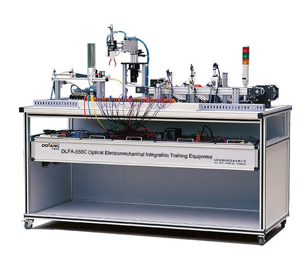DLFA-555C  Équipement de formation Intégration électromécanique optique