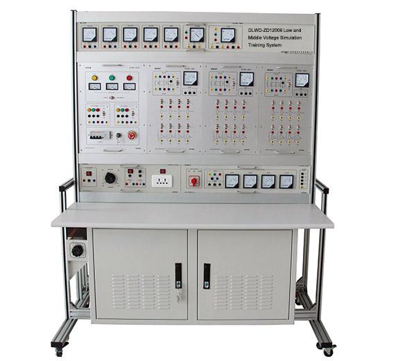 DLWD-ZD1200/6 Système de formation de simulation basse et moyenne tension