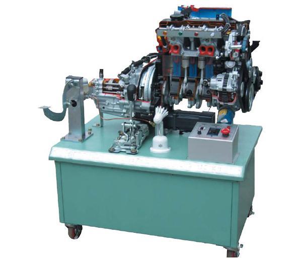 DLQC–FDJ031 Jetta Engine Anatomie  Demo Set (avec transmission)