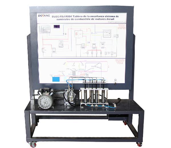 DLQC-FDJ-R004  Conseil Diesel Engine Fuel Supply Système d'enseignement (pompe à rotor / système de distribution de la pompe à huile en option