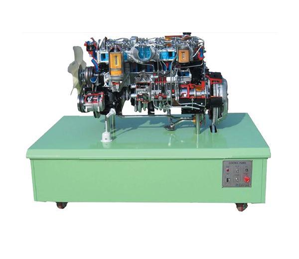 DLQC-D0018 6 cylindres Diesel Engine Dissecting Démontrer la plate-forme
